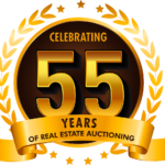 Celebrating 55 Years of Real Estate Auctioning